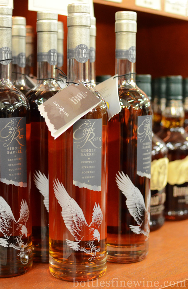Eagle Rare Single Barrel Bourbon Whiskey Review