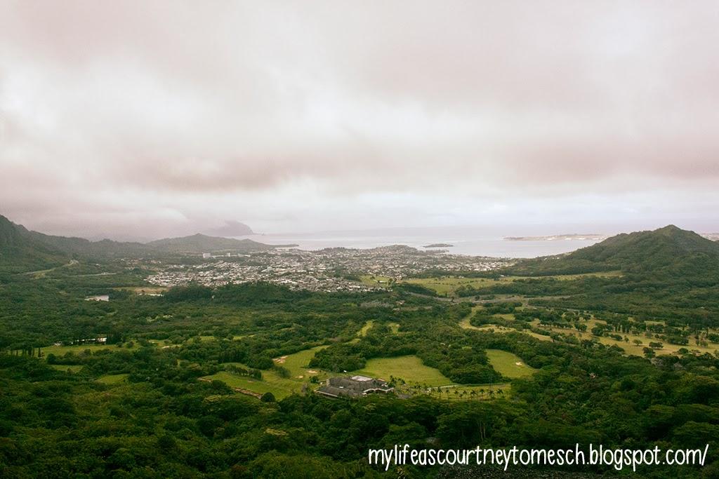 Oahu Hawaii Nu'uanu Pali State Wayside