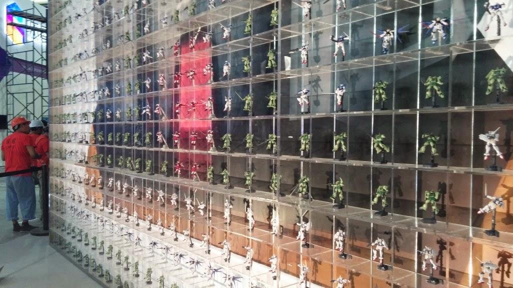 gundam collection display