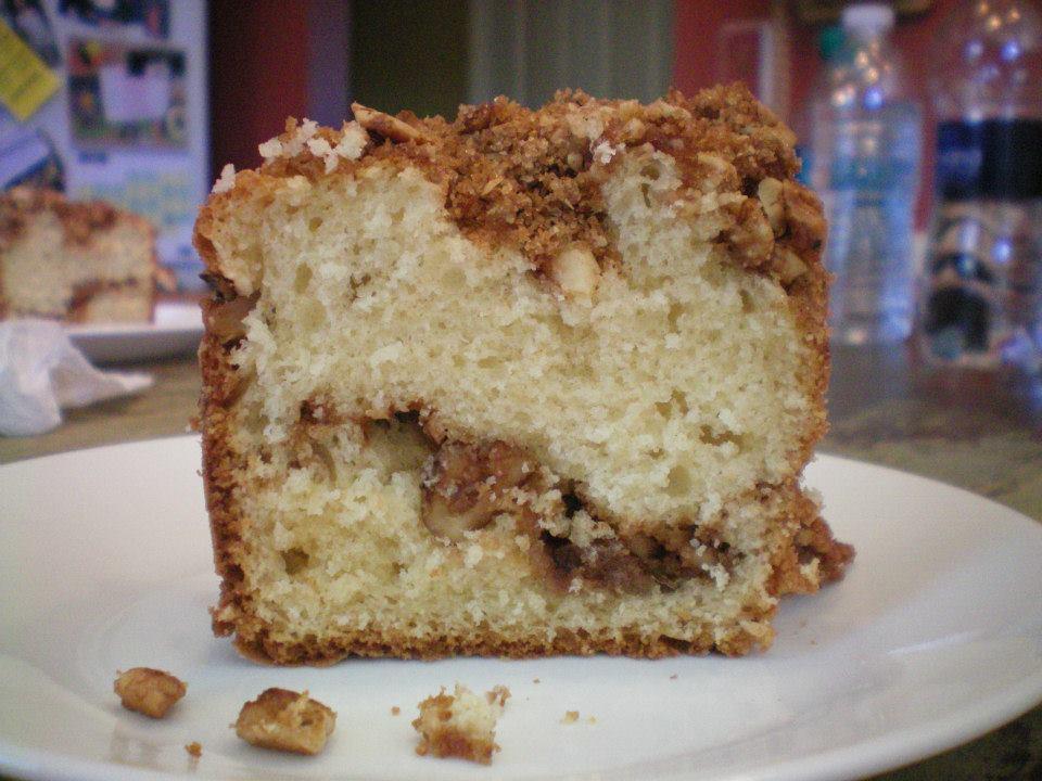 Grandma Glady's Coffee Cake Recipe (Makes 1 12-inch cake)