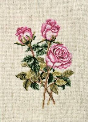 RTO, Розы на льняной ткани