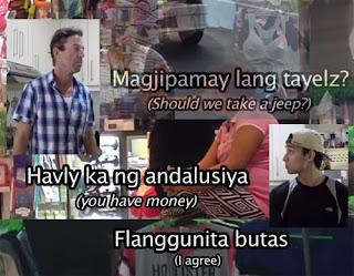 Foreigners speak salitang beki gay linggo