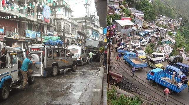 Kurseong more worried about traffic jams than scarcity of drinking water