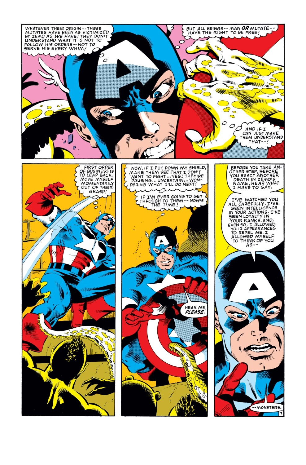 Captain America (1968) Issue #278 #194 - English 8