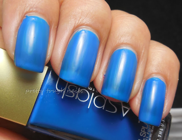 LA Splash Cosmetics Blowfish Blue