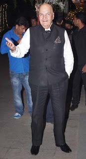 Prem Chopra at Director Rohit Shetty's sister's wedding