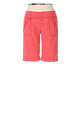Anthropologie Ruffle Pocket Bermudas