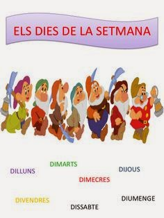 ELS DIES DE LA SETMANA
