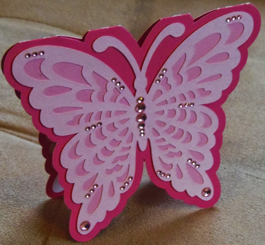 how to cut butterfly shape
