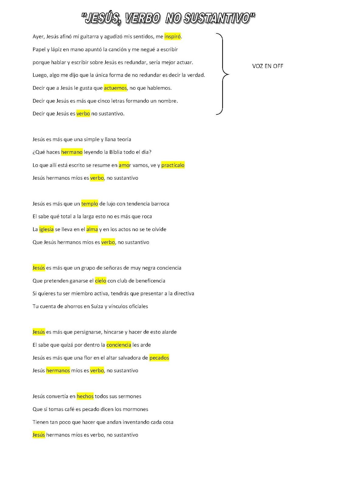 la letra de la cancion de arjona: