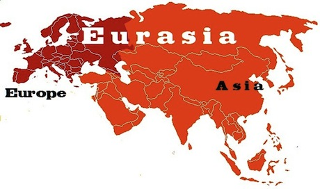 the dividing line between europe and asia
