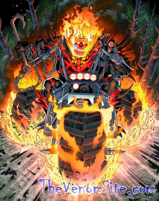 Follow Agent Venom and Red Hulk's adventures in Circle of Four and Thunderbolts