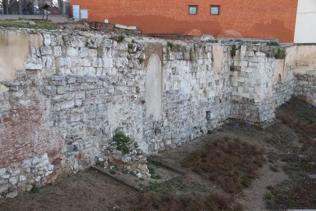 La muralla árabe de Madrid. Blog Esteban Capdevila
