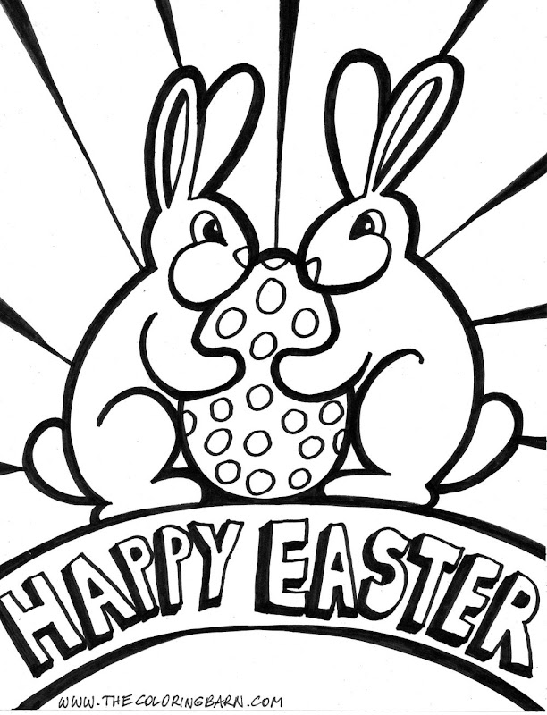 Easter Coloring Pages,easter title=