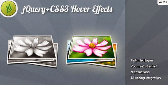 70 Awesome jQuery CSS3 Image Hover Plugins & Effects
