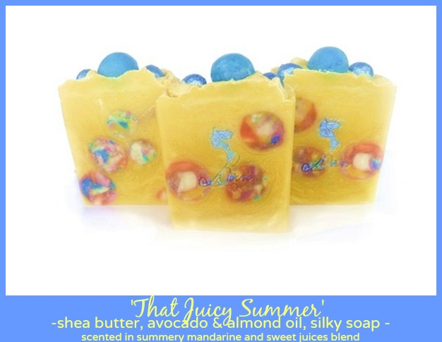 diva soap, soap embeds, summer