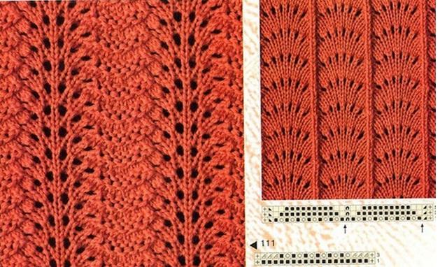 Образцы вязания фото