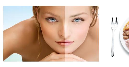 La desaparición de las manchas de pigmento sobre el labio superior por el láser