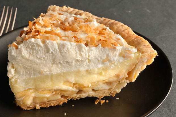 My Favorite Things: Banana Coconut Cream Pie