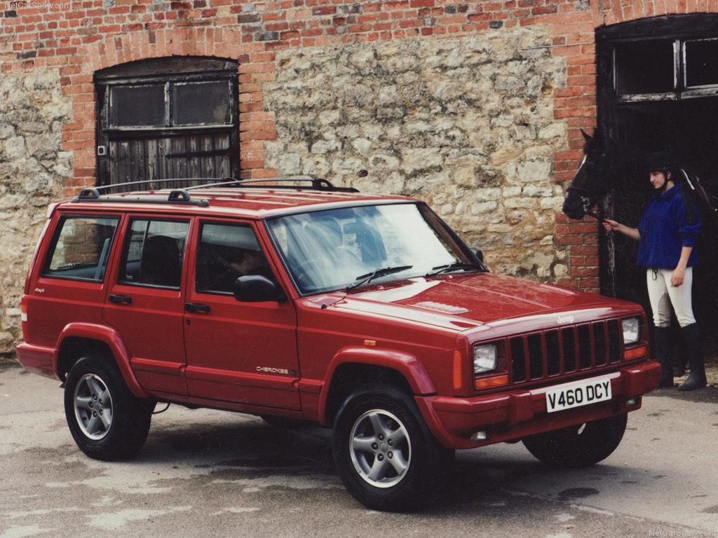 Jeep Cherokee - Một trong những dòng SUV phổ biến nhất một thời