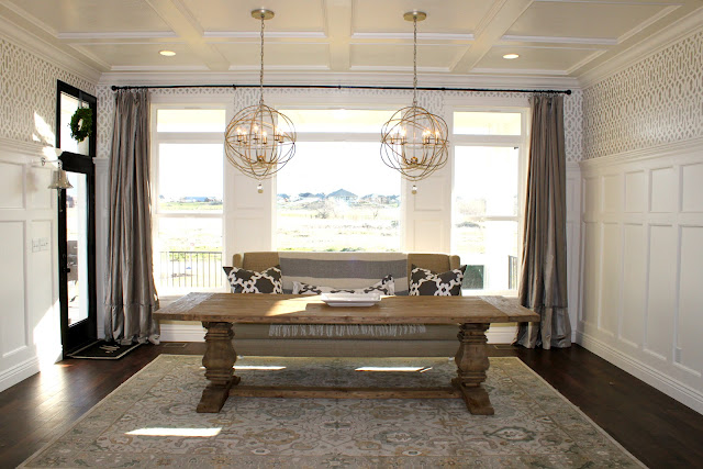 Beautiful Restoration Hardware Lighting Dining Room Pictures