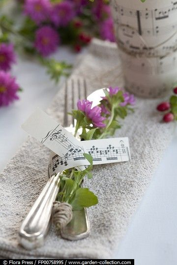 Ideas For A Gorgeous Music Themed Wedding