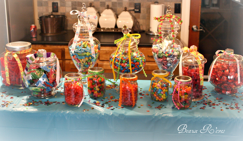 Backyard Sweet 16 Party Ideas backyard party ideas for toddlers Sweet 16 Next Stop Target For More Candy And Party City For Cellophane Goodie Bags And Assorted Items Like The Confetti Decorations And The Balloons