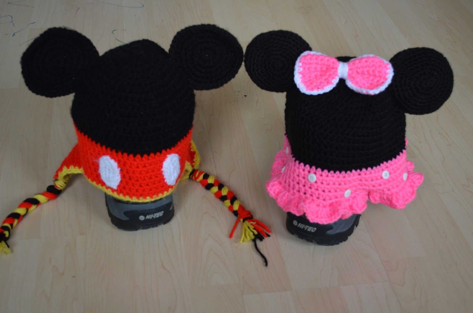 Paper, Needles n Sweets : Mickey and Minnie Mouse Crochet