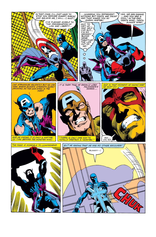 Captain America (1968) Issue #254 #169 - English 21