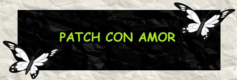 Patch con amor