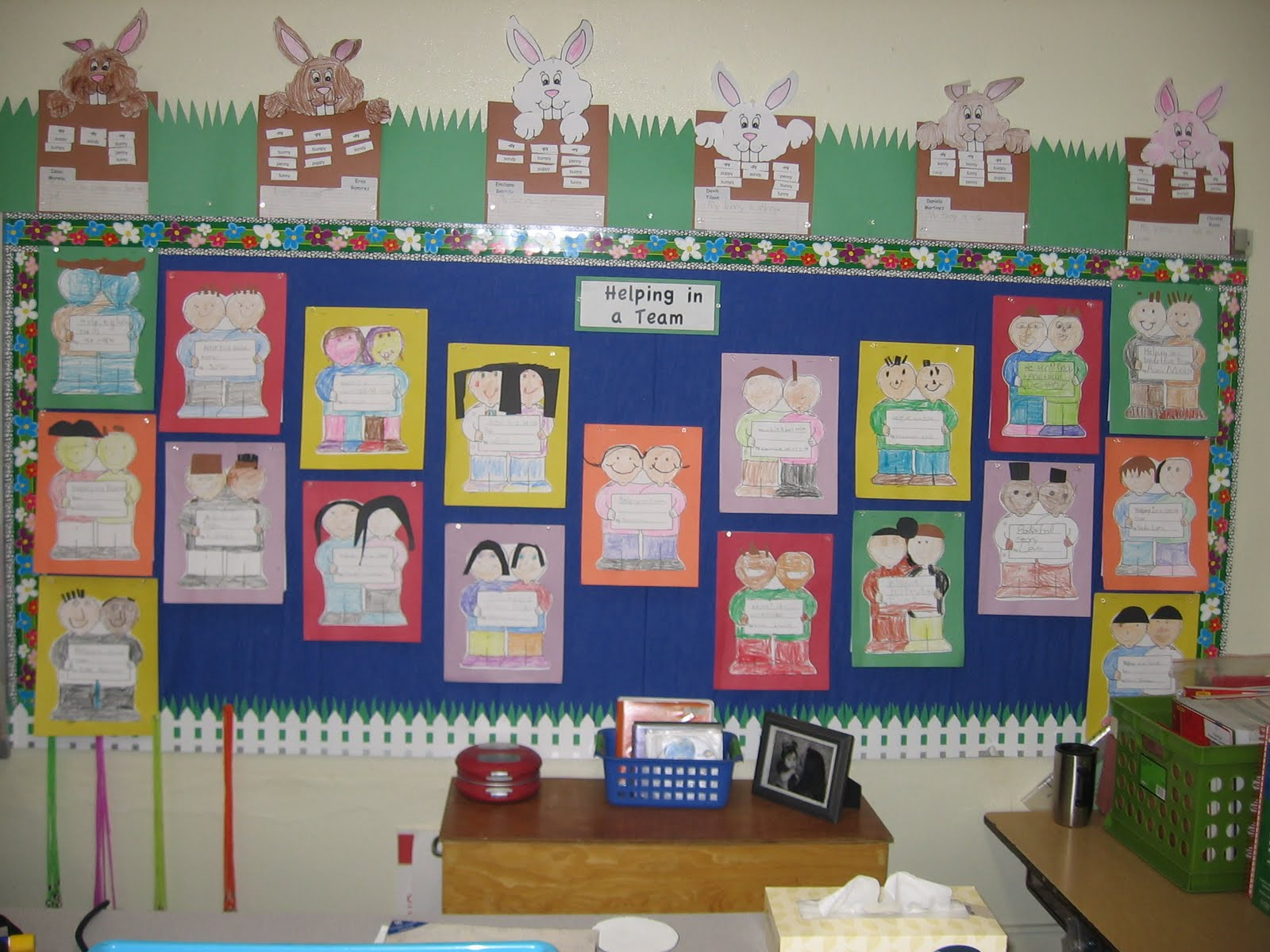 Classroom Decoration Ideas For Grade 2 : Always first grade bulletin board ideas linky party