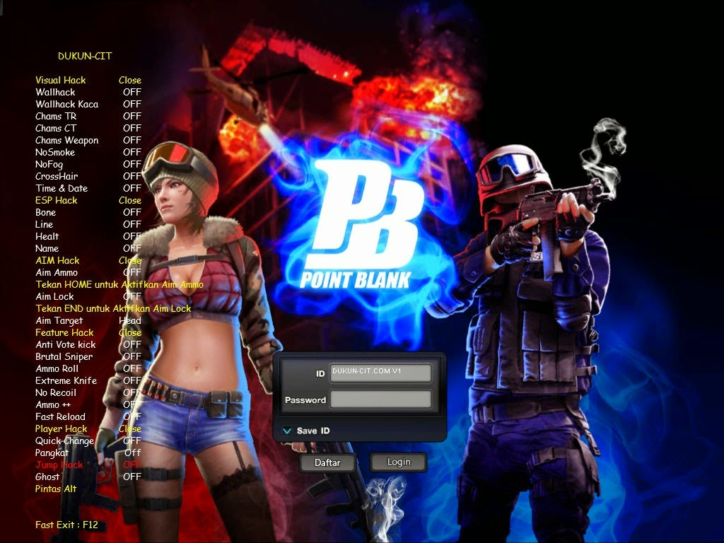 Cheat Point Blank 27 Desember 2014