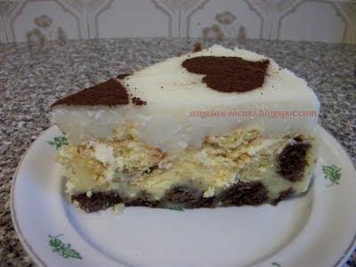 egy szelet pudingos torta