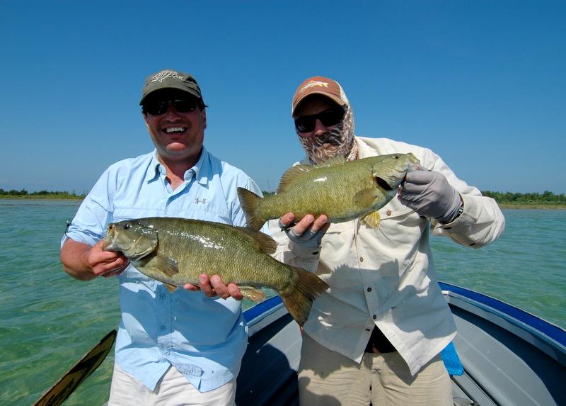 The fiberglass manifesto beaver island smallmouth experience for Beaver lake fishing guides