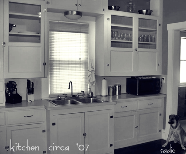 { for you, june }: Open-face cabinets...