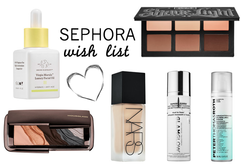 WISH LIST: NEW AT SEPHORA