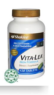 vitalea (multivitamin) shaklee