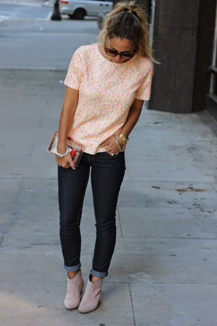 How to wear Sequin Shirt