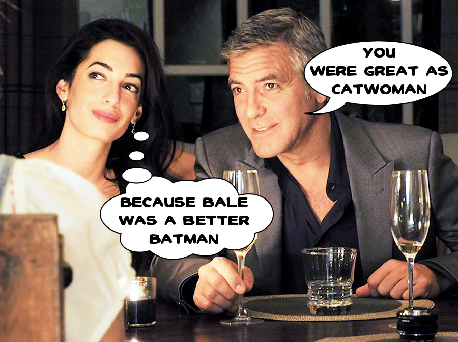 George Clooney and Amal Hathaway Alamuddin