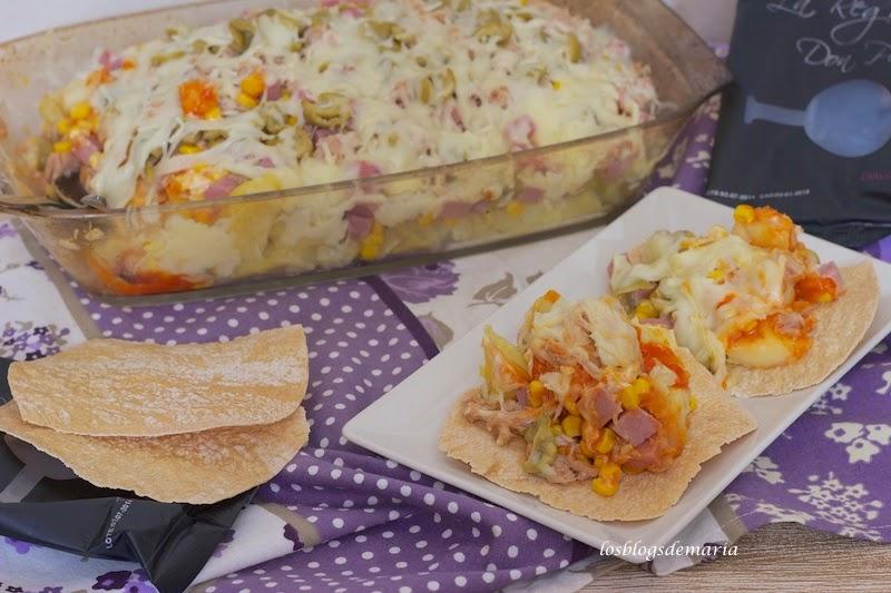 Pastel de patatas para unas Regañá Don Pelayo