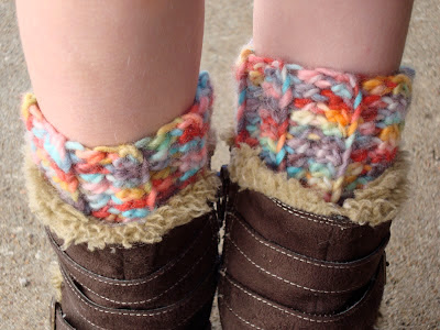 free crochet pattern ribbed boot cuff