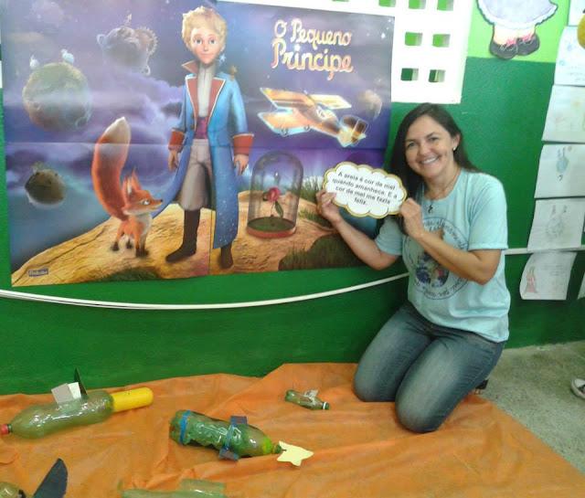 Exposição Pequeno Príncipe Professora Fátima Medeiros