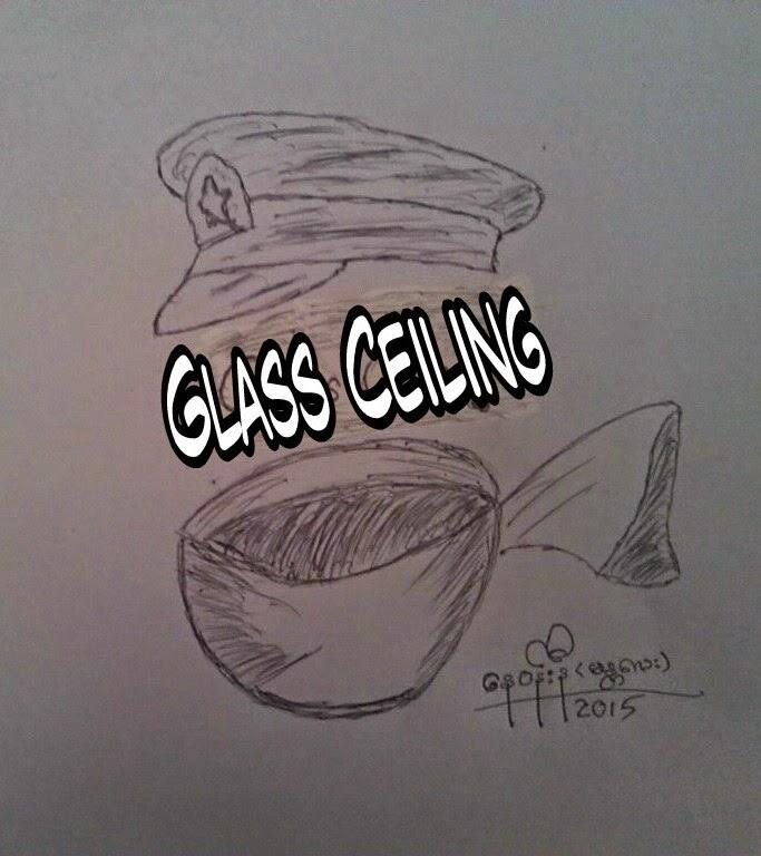 ကာတြန္း ေန၀န္းနီ (မႏၱေလး) – Glass-ceiling
