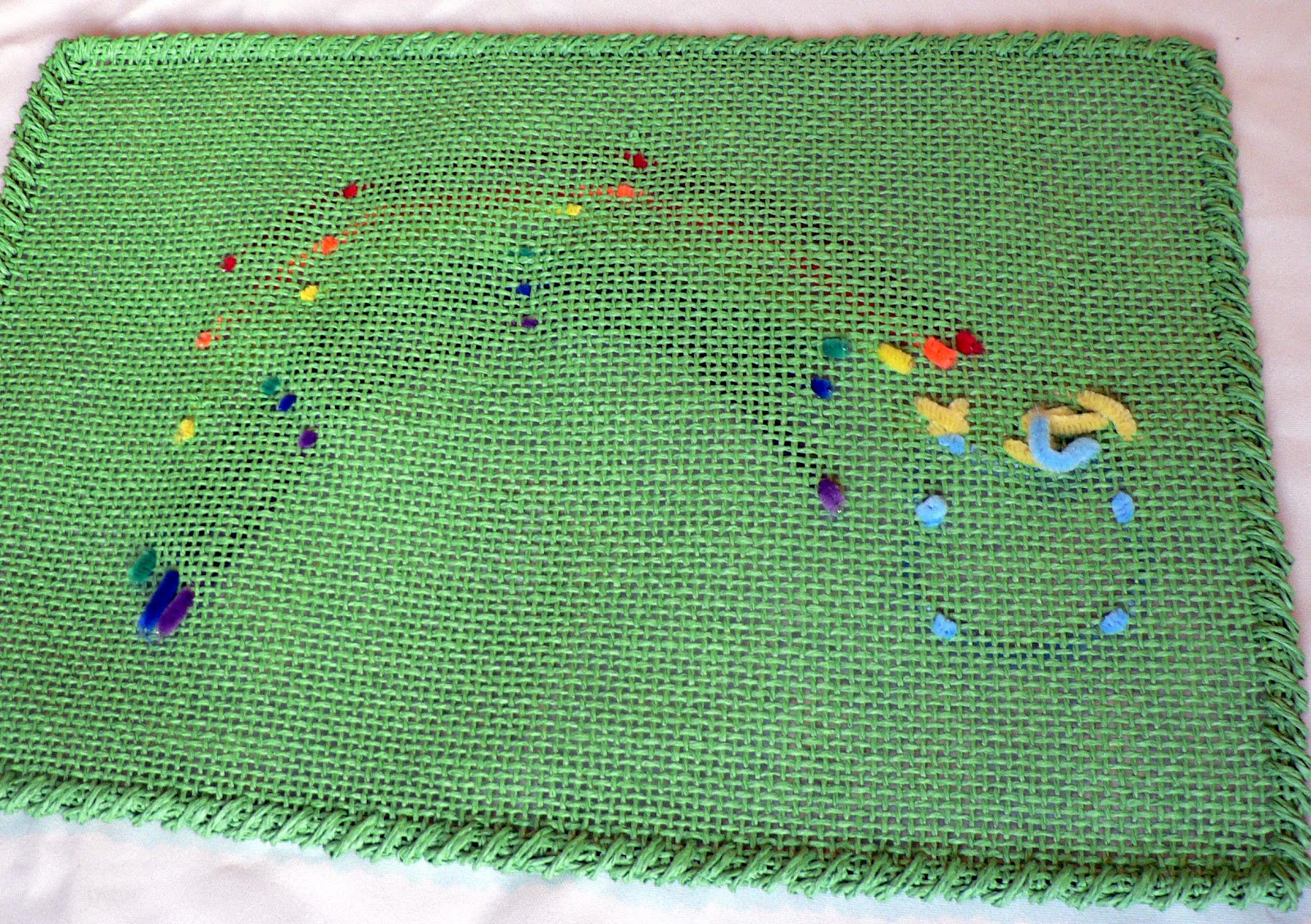 how to no sew st patrick 39 s day placemat bless this mess