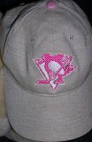 Pink Pittsburgh Penguins Hat