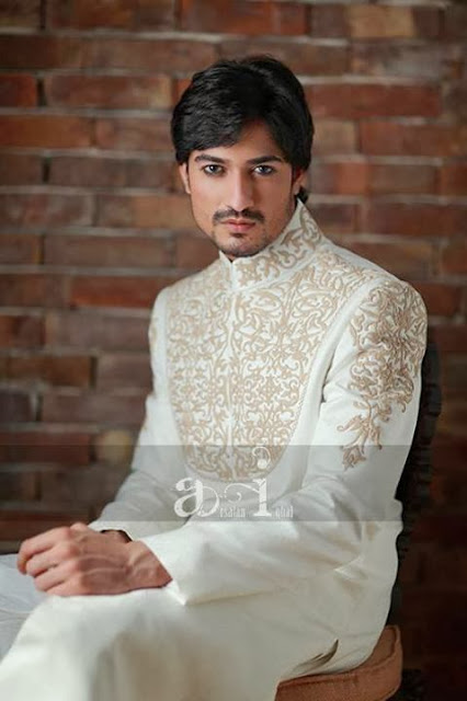 Designer Sherwanis for Men by Arsalan Iqbal 2013-14 Collection