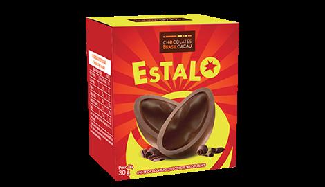Ovo de páscoa Estalo lançamento chocolates Brasil Cacau 2015