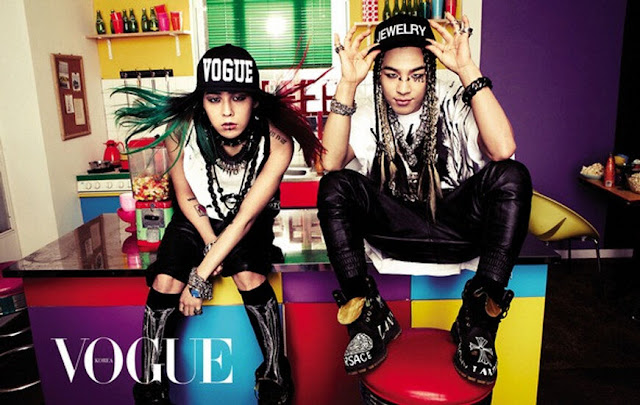 G-Dragon and Taeyang for Vogue Korea March 2013
