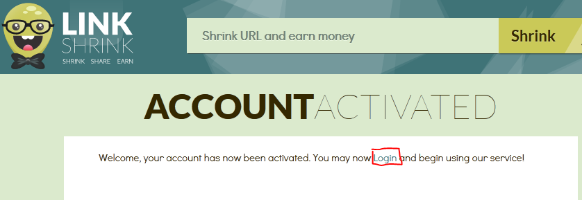 Trik Mendapatkan Dollar dengan LinkShrink.net