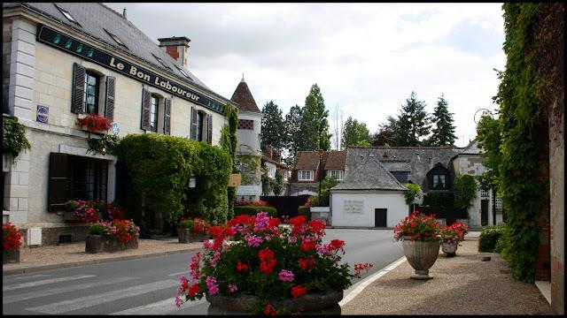 Chenonceaux Village France June 2011